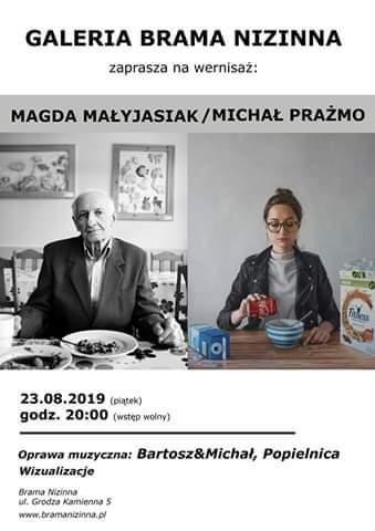 Wernisaż Magdaleny Małyjasiak iMichała Prażmo