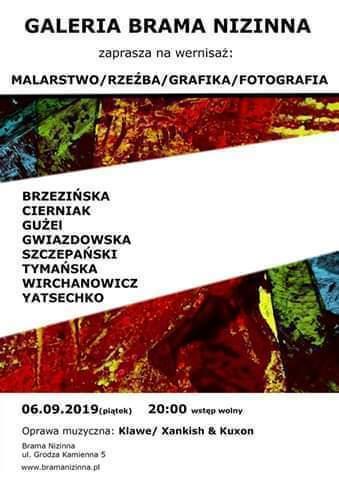 Wystawa zbiorowa Malarstwo/Rzeźba/Grafika/Fotografia