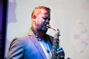 Michał Sasinowski, saksofon. Gdańsk 2019